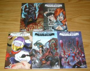 Absolution: Rubicon #1-5 VF/NM complete series - christos gage - final justice