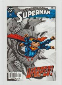 Superman 191 VF 8.0 (2003, DC) McDaniel Art!