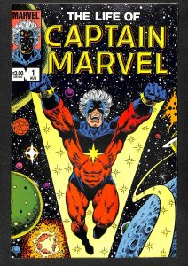 The Life Of Captain Marvel #1 (1985)