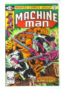 Machine Man (1978 series) #18, VF+ (Actual scan)