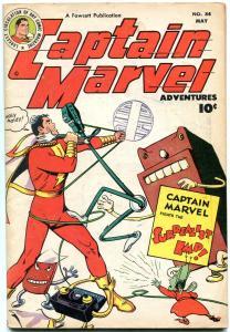CAPTAIN MARVEL ADVENTURES #84 1948-SURREALIST IMP-SIVANA- VF MINUS VF-