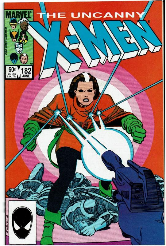 X-Men #182, 9.0 or better, Rogue Solo Story