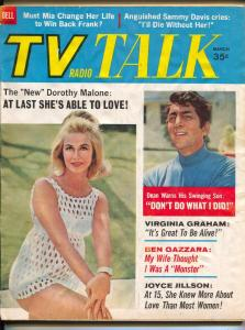 TV Radio Show-Virginia Graham-Dorothy Malone-Dean Martin-March-1968