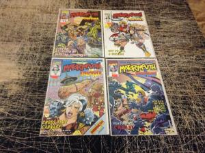 Lot Of 4 Motormouth Marvel Comic Books # 6 9 10 11 Incredible Hulk Wolverine! P6