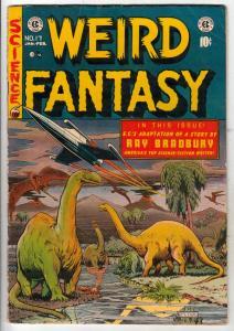 Weird Fantasy #17 (Jan-53) FN+ Mid-High-Grade