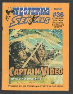 Westerns & Serials #36-1991-Captain Video-Pony Express-Joel McCrea-Guy Willia...