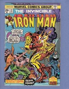 Iron Man #72 VG/FN Marvel 1975
