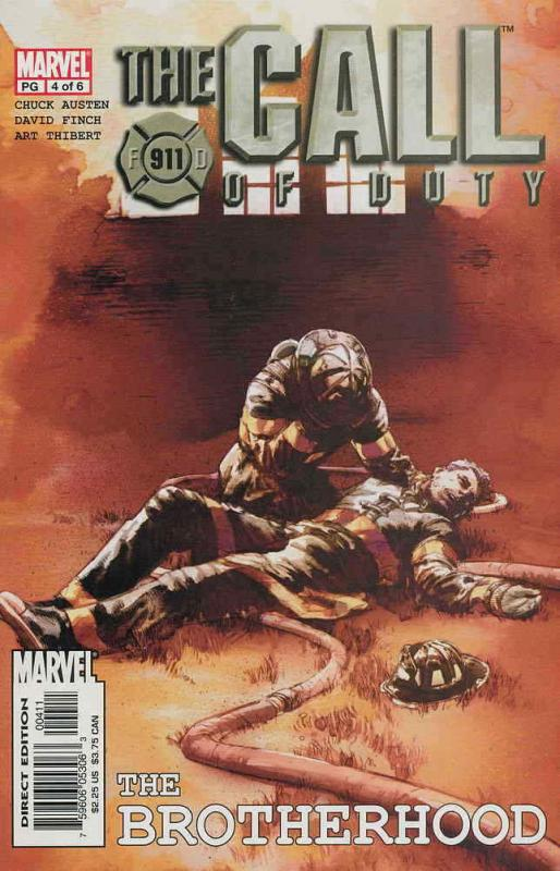 Call of Duty, The: The Brotherhood #4 VF/NM; Marvel | save on shipping - details