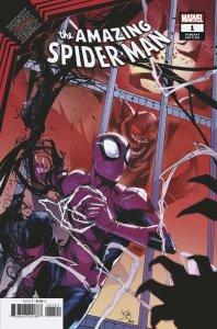 King In Black Spider-Man #1 Vincentini Variant (Marvel, 2021) NM
