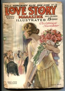 The Love Story Pulp December 19 1925- Modest Stein G