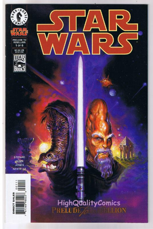STAR WARS #1, NM+, Prelude to Rebellion, Jan Strnad, 1998, more SW in store