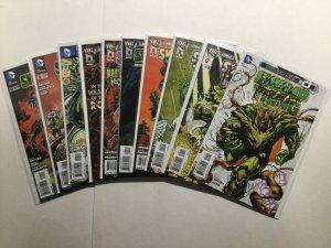 Swamp Thing 0 1-23 Plus Signed Books Lot Run Set Near Mint Nm Dc Comics
