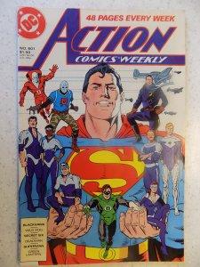 ACTION COMICS # 601