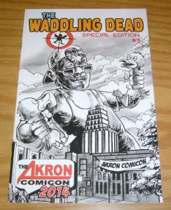 Waddling Dead Special Edition #3 VF/NM walking dead parody title - akron comicon