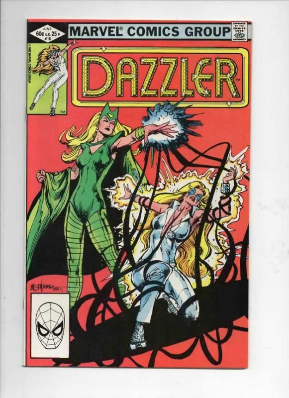 DAZZLER #16, VF/NM, Enchantress, 1981 1982, more Marvel in store