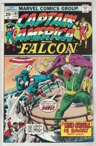 Captain America #184 (Apr-75) NM Super-High-Grade Captain America