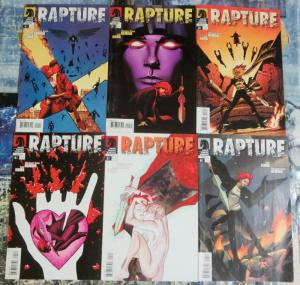 RAPTURE (2009 DH)  1-6 Michael Oeming Powers Comics