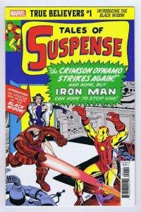 True Believers Introducing Black Widow #1 2020 Marvel Comics Reprints TOS 52 53