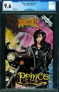 Rock N Roll Comics #21 CGC 9.6 1990-PRINCE issue-1998430009