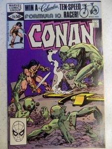 CONAN THE BARBARIAN # 128 MARVEL FANTASY BRONZE ACTION HI GRADE