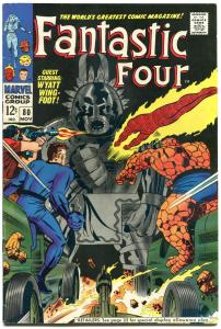 FANTASTIC FOUR #80, FN, 1st Tomazooma, Jack Kirby, 1961, more FF in store, QXT