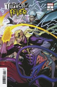 Typhoid Fever Iron Fist #1 Connecting Variant (Marvel, 2019) NM