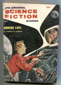 Original Science Fiction Stories September 1957- pulp history feature