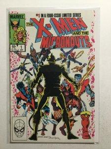 X-Men And The Micronauts 1 Near Mint Nm Marvel