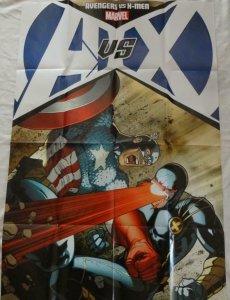 AVENGERS vs X-MEN Promo Poster, 24 x 36, 2012, MARVEL, Unused 246