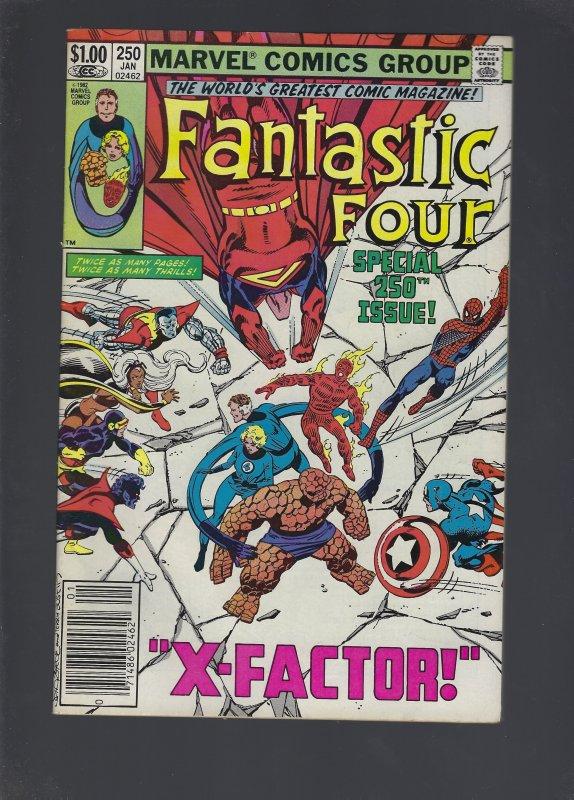 Fantastic Four #250 (1983)