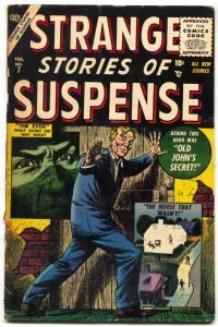 Strange Stories of Suspense #7 1956- Everett Atlas Comics Severin G