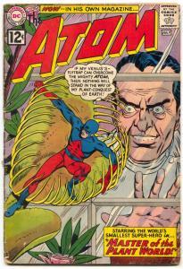 The Atom #1 1962- Gil Kane DC Silver Age Key issue G