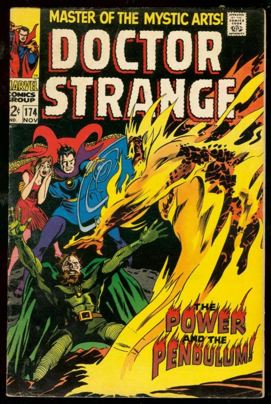 DOCTOR STRANGE #174 1968-MARVEL COMICS-GENE COLAN ART VG