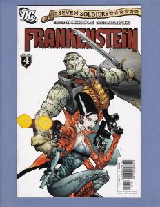 Seven Soldiers Frankenstein #4 FN/VF DC 2006