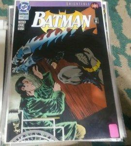 Batman #499 1993 DC COMICS KNIGHTFALL PT 17  BANE ROBIN GOTHAM AZREAL