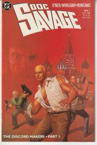 Doc Savage(1988) # 1   Doc Savage's New Adventures in the 80s/90s !