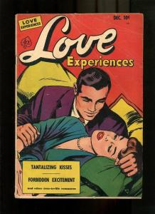 LOVE EXPERIENCESE 10-1951-PRECODE ROMANCE VG