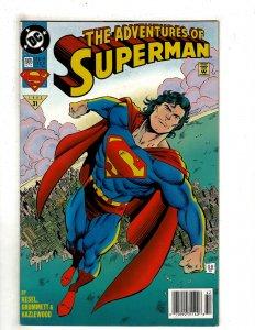 Adventures of Superman #505 YY7