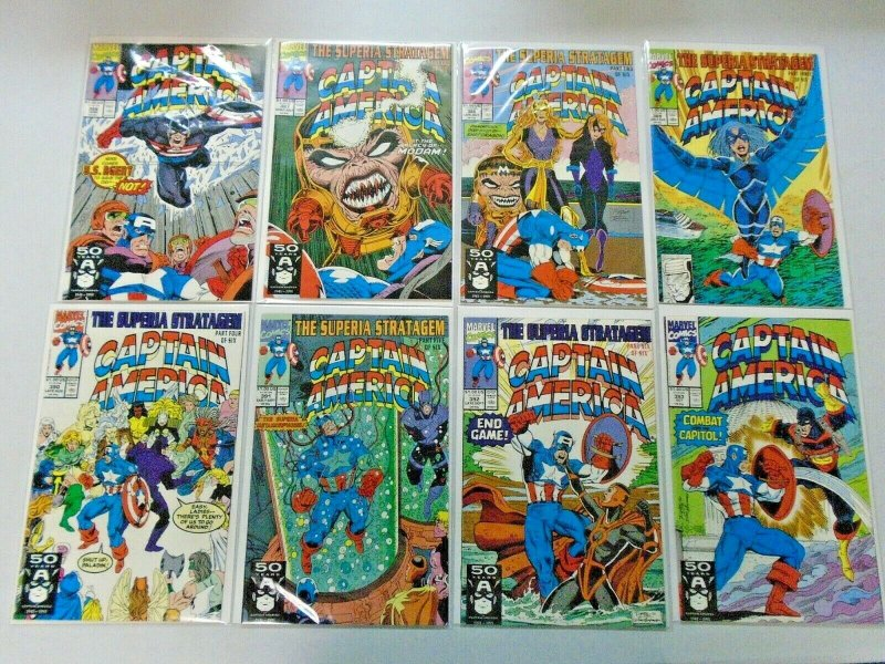 Captain America Comic Lot From #352-399 37 Different Average 8.0 VF (1989-1992)