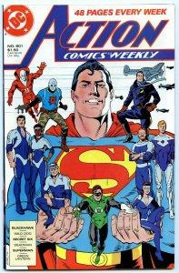 Action Comics Weekly 601 May 1988 NM- (9.2)