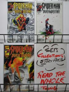 SPIDERMAN DEATH & DESTINY (2000) 1-3 Lee Weeks COMPLETE