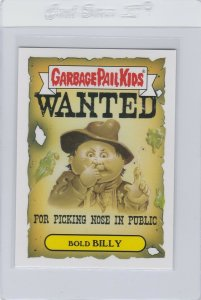 Garbage Pail Kids Bold Billy 5a GPK 2016 American As Apple Pie In Your Face