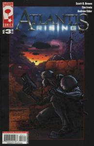 Atlantis Rising #3 VF/NM; Platinum | save on shipping - details inside