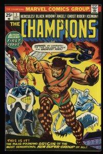 Champions #1 VF 8.0 Ghost Rider Black Widow Hercules!
