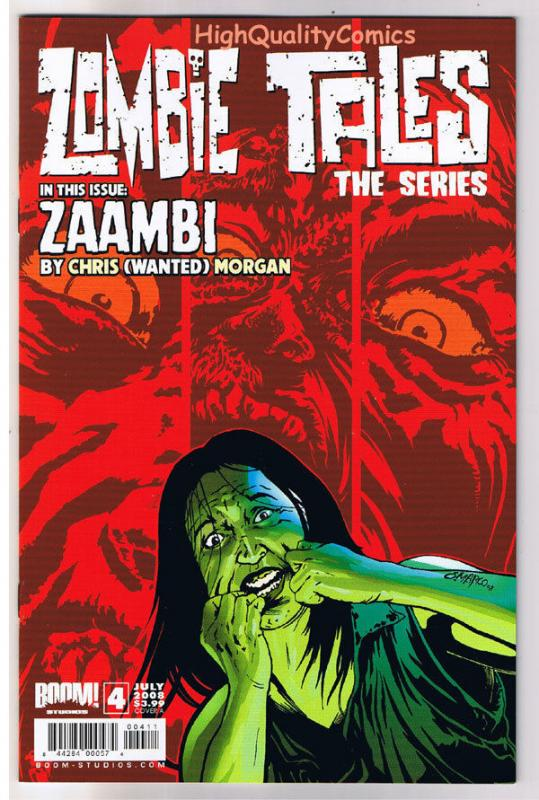 ZOMBIE TALES The Series #4, NM+, Undead, Walking Dead, 2008, more in store