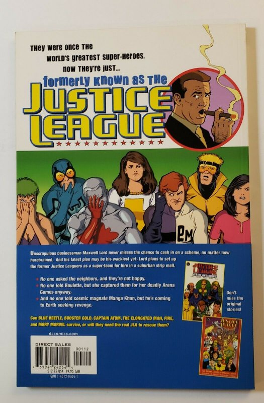 FORMERLY KNOWN AS THE JUSTICE LEAGUE 2ND PRINT TPB SOFT COVER DC VF/NM