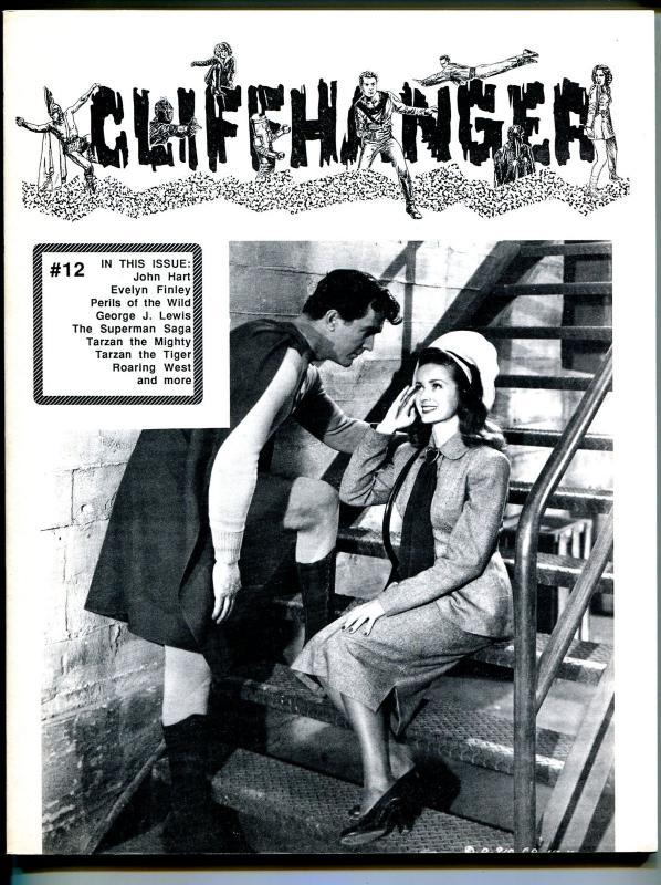 Cliffhanger #12 1990-WOY-Supermanr-movie serials-Noel Neil-Kirk Alyn-FN/VF