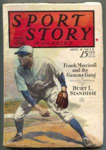 Sport Story Pulp September 8 1928- Frank Merriwell