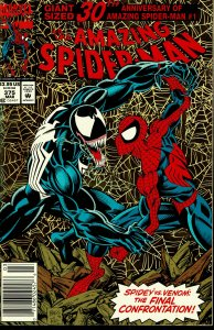 Amazing Spider-Man #375 - VERY FINE - Venom