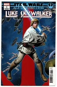 Star Wars AOR Age Of Rebellion Luke Skywalker #1 Puzzle Variant (2019) NM